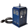 Dr. Who Tardis USB Hub Has 4 USB 2.0 Ports