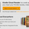 Amazon Launches Kindle Cloud Reader