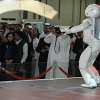 ASIMO at the Dubai International Motor Show