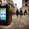 Rubbish bins go high-tech