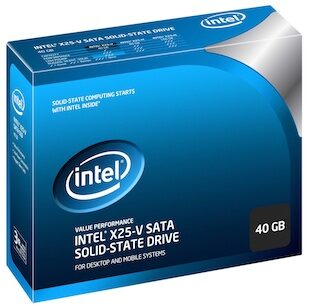 Intel X25-V solid-state drive is out