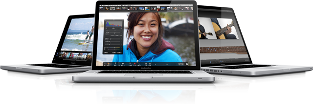 MacBook Pro now with Corei5,i7 processors and a 10hr battery