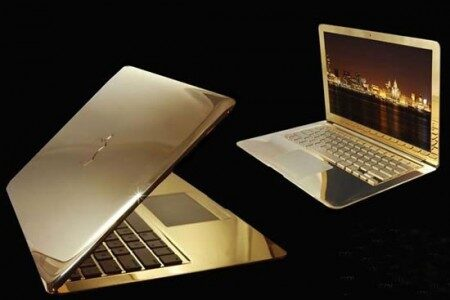 Will you buy this? 24-carat Gold-coated MacBook Air