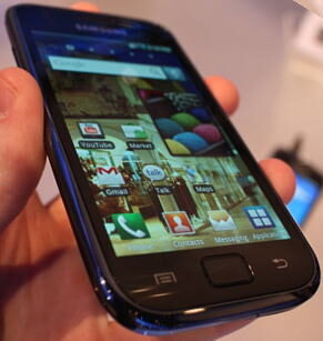 Samsung i897 Android Smartphone revealed, Expected to arrive with AT&T