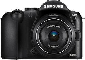 Samsung NX5 officially released