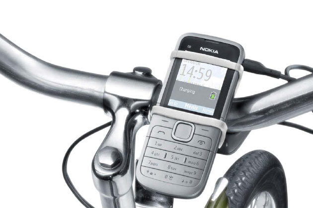 Bicyclists Cheer! Nokia unveils Bicycle charger