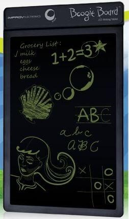 Save Paper, use The Boogie Board writing tablet