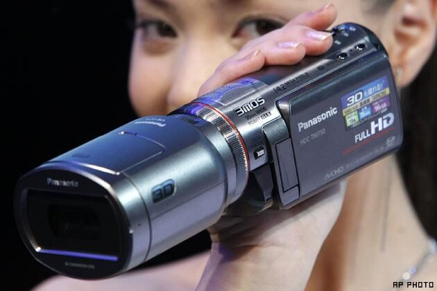 World's first 3D Camcorder for Consumers