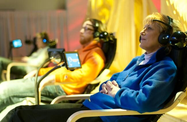 The Matrix in reality? Brain-controlled games on Airplanes