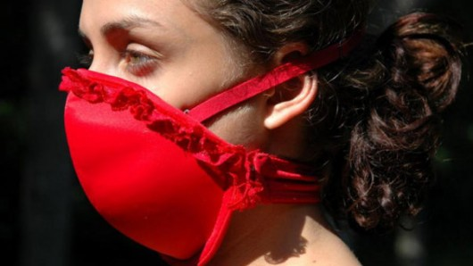 The Bra that Protects You from a Biological Attack!