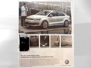 Innovation? Talking News Paper Ad Startles Readers in India
