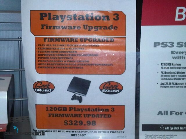 Update Your PS3 at Best Buy for $30