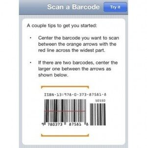 Amazon iPhone App Gets a Barcode Scanner