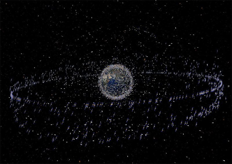 Bad China? Earth's Outer Orbit has 3000 Pieces of Debris