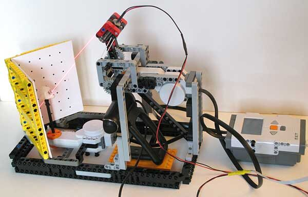 3D Scanner made out of Lego!