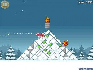 Angry Birds Seasons Now for iOS Devices