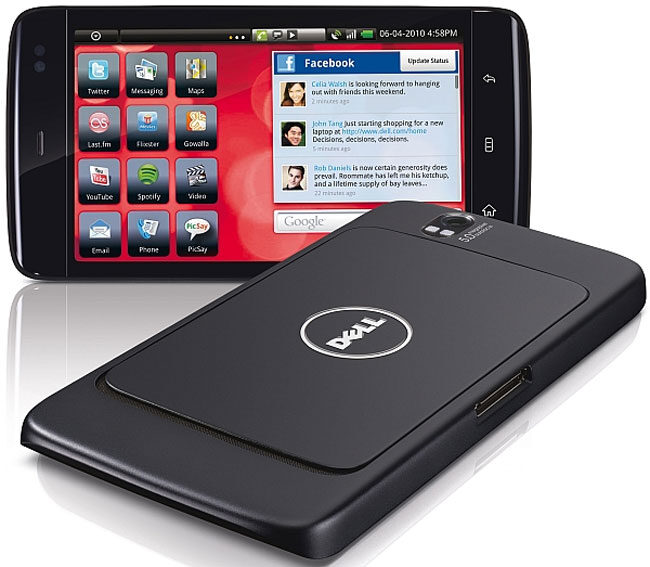 Dell Streak on AT&T Android 2.2 Update Arrives