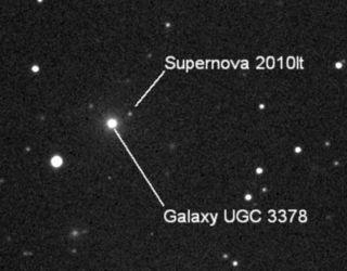 10 year old Discovers SuperNova!