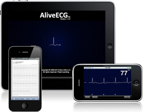 iPhone used as a Heart Monitor – ECG, There's an App for that!