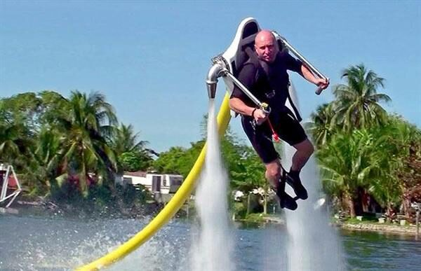 A Water Powered Jet Pack [Video]