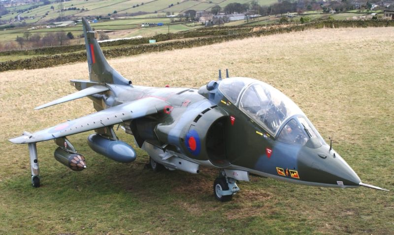 7 Year Old buys Harrier Fighter Jet on Ebay!