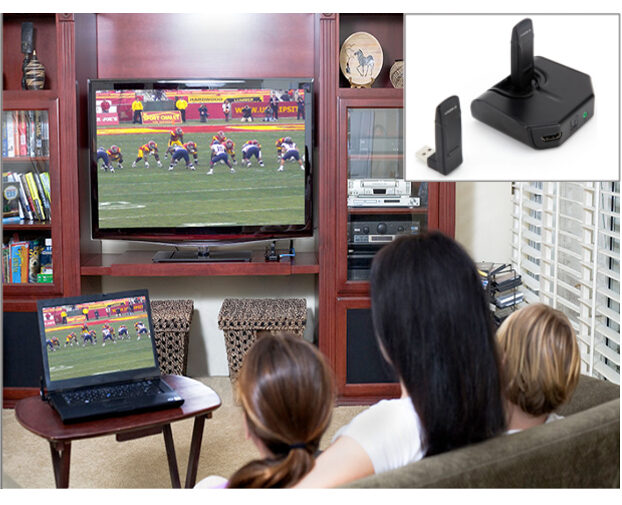 Wirelessly Stream HD Video from Your PC to TV