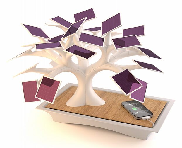 How about a Bonsai Tree Charges Phones!