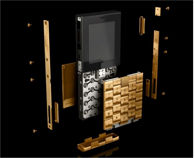 A $60K 18ct Gold Cell Phone