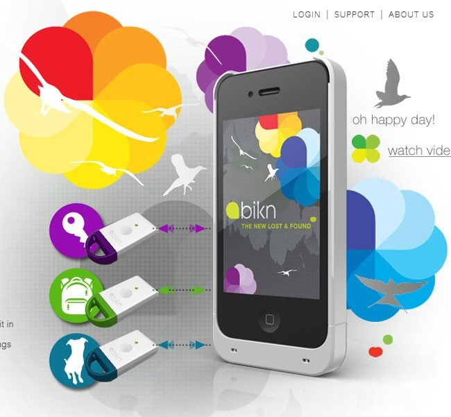 BiKN iPhone Tracking System is Here!