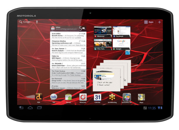 Motorola Xoom 2 Tablet Official Trailer is Here!